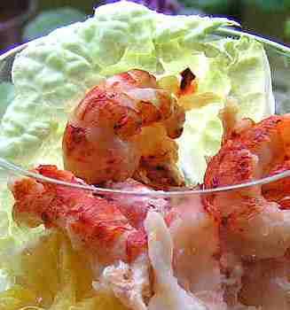 Как приготовить салат-коктейль Морской праздник,рецепты + с фото